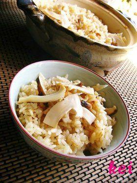 土鍋でご飯♪松茸ご飯 by けい♪ [クックパッド] 簡単おいしいみんなの ...
