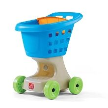 """Chariot d'épicerie Little Helper (bleu) - Step 2 - Toys""""R""""Us"""