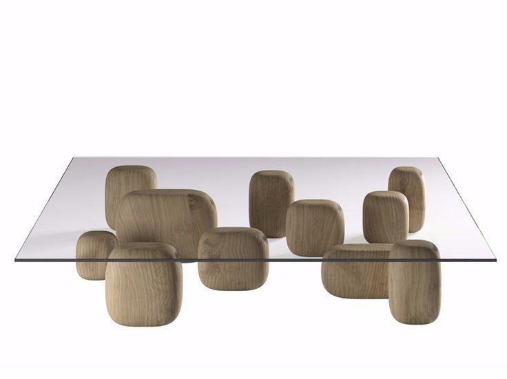 Table Basse Carr E En Cristal De Style Contemporain Ishi By De Padova Design Nendo Mobilier