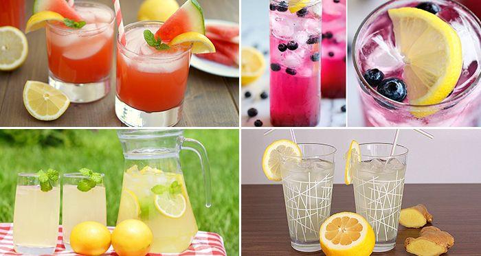 Pripravte si jednoduché a chutné limonády, ktoré vás osviežia počas slnečných dní. Viete si ich pripraviť z bežne dostupných surovín a víde vás to lacnejšie, ako kupovanie limonád z obchodov.