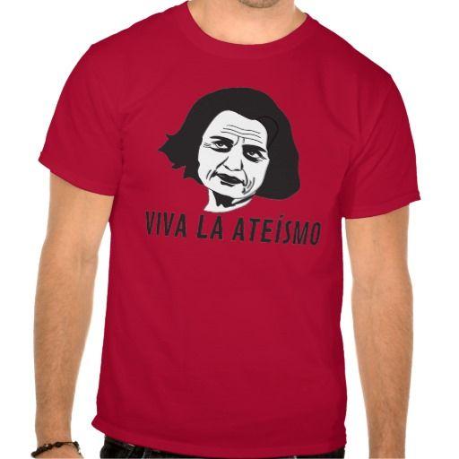 VIVA LA ATEÍSMO by Päivi Räsänen  #finland #finnish #suomi #suomalainen #finska #tpaita #tshirt #troja #paivirasanen #ateismi