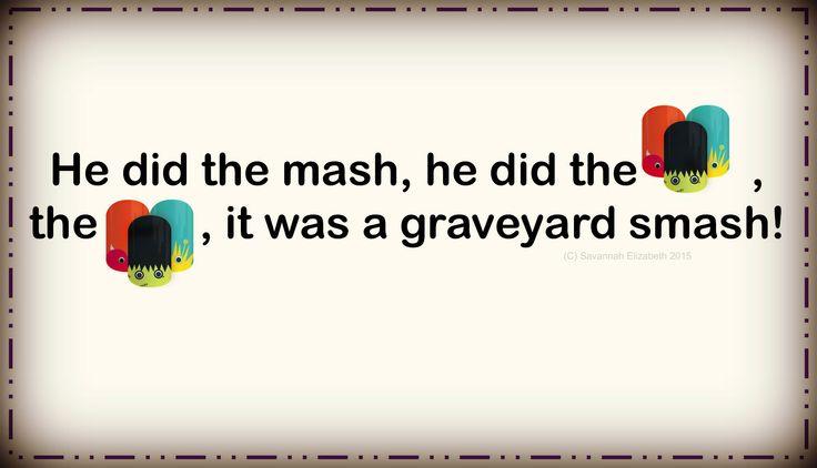 Fill in the Lyric  - Jamberry style  #jamberry #jamberrygames #fillintheblank #lyrics #games #savannahejams #jamberrynails #jamberyconsultant #jamberryhostess #directsales #monstermash #oldschool #songs #music #musicgames #halloween #seasonal #fall #autumn #holiday