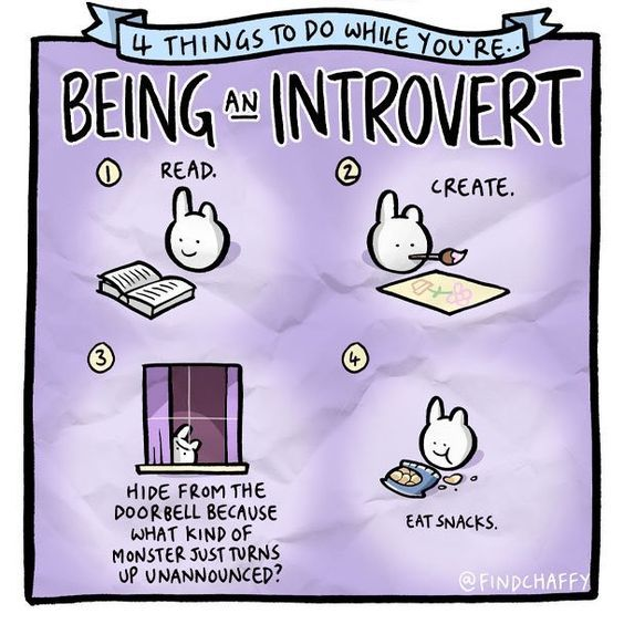 Being An Introvert – Writers Write
