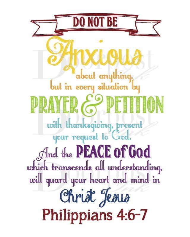 1000+ Ideas About Philippians 4 6 7 On Pinterest