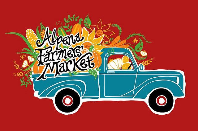 """Alpena Farmer's Market"" - logo by Elisa Chavarri, via Flickr"