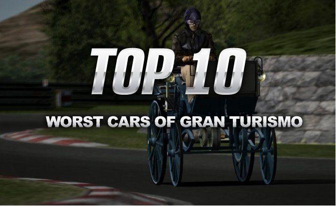Top 10 Worst Cars of Gran Turismo
