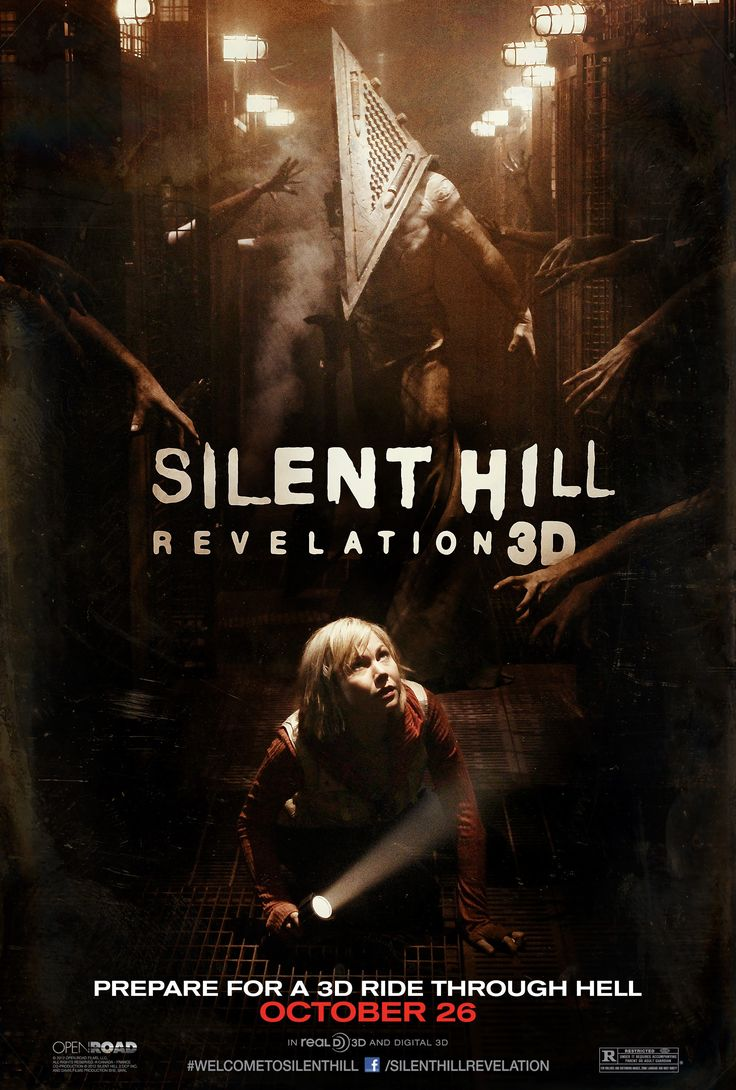 Another teaser poster for Silent Hill: Revelation