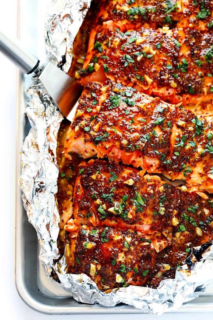 25-Minute Honey Mustard Salmon