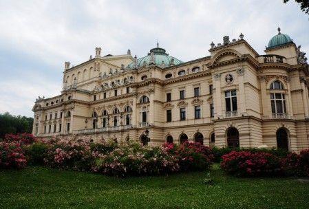 Krakow, architecture, theatre, Teatr Wielki w Krakowie