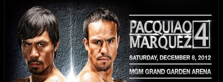 Watch pacquiao vs marquez boxing fight here on 8th december.Here you can watch pacquiao vs marquez online TV channel.So dont miss pacquiao vs marquez match on TV.