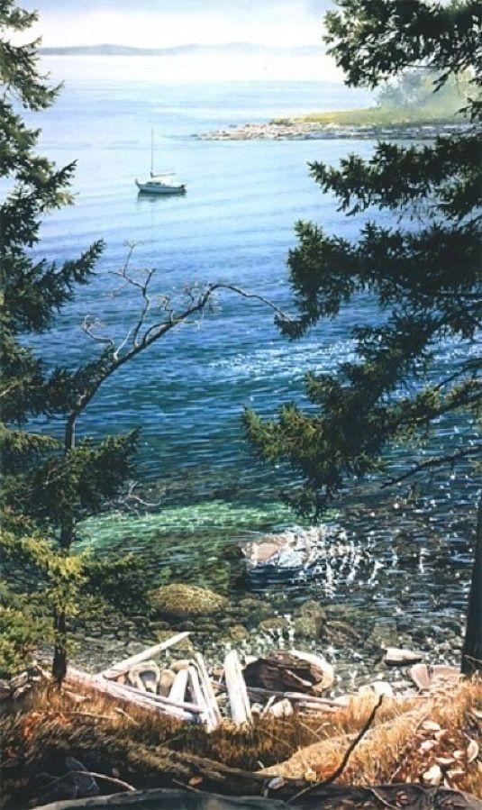Carol Evans Decourcy Island