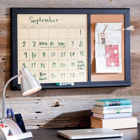 pottery barn calendar board 3