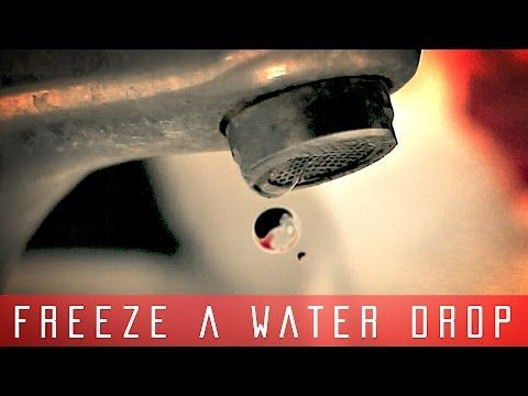 After Effects Tutorial - Freeze Water Drops in Space - YouTube