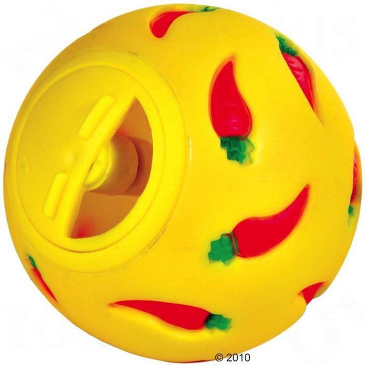 Palla-gioco in plastica, per furetti e altri roditori, riempibile con snack