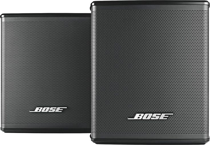 Bose® - Virtually Invisible® 300 wireless surround speakers - Black, VIRT INV 300 SURR SPKRS,BLK, 1
