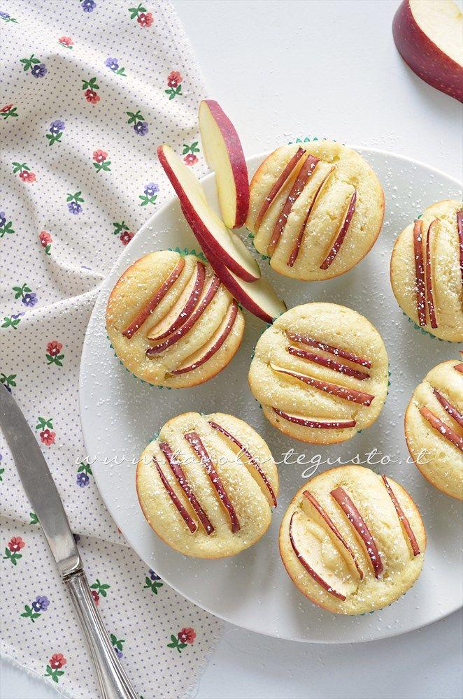 Muffins ricotta e mele