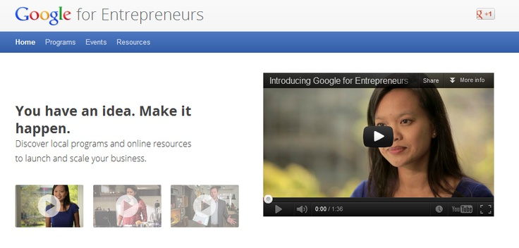 Google for Entrepreneurs | You have an idea. Make it happen. Discover local programs and online resources to launch and scale your business.