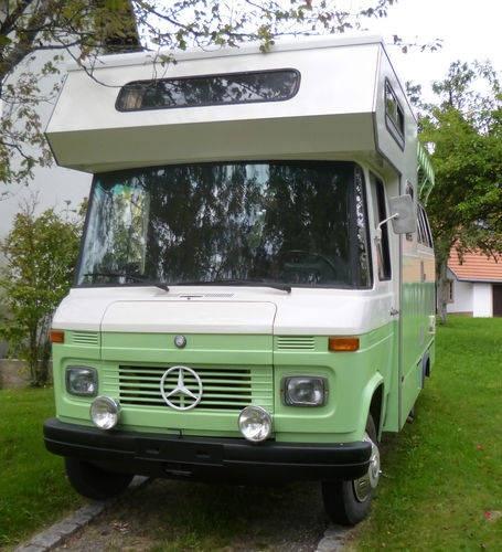 1969 mercedes benz 508 sambabus panoramabus camper for Mercedes benz rv camper