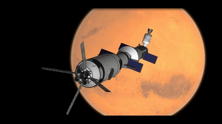 KSP -  Ares Mission to Mars. Phobos-Hole Discovery - RSS/RP-0