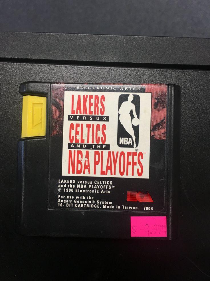 SEGA Genesis Lakers vs Celtics and the NBA Playoffs