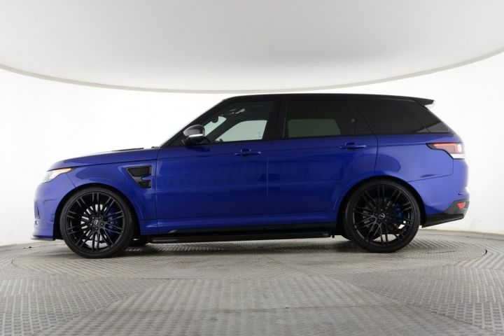 Used Land Rover Range Rover Sport Supercharged V8 Urban Svr Blue For Sale Essex Kw66bfp Saxton 4x4 Range Rover Sport Range Rover Used Range Rover