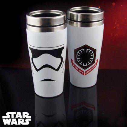 Mug isotherme Star Wars 7 à l'effigie du Stormtrooper sur Cadeaux et Anniversaire