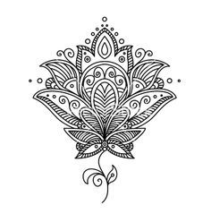 lotus flower mandala coloring pages - Google Search