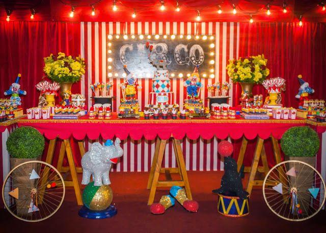 Encontrando Ideias: Festa Circo!!