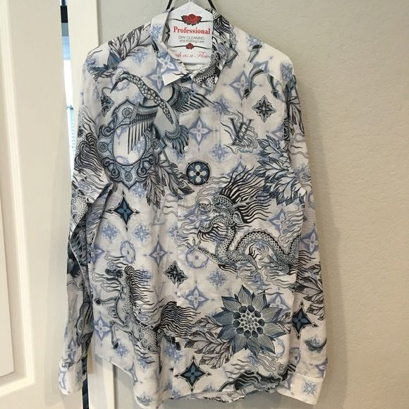 Louis Vuitton MENS shirt Louis Vuitton MENS button down shirt.  Scott Campbell co-lab tattoo design  I won't be selling a lot of men's items but I do have a few. They are immaculate, authentic, and usually special edition. No trades please. This was a very limited edition. Louis Vuitton Tops Button Down Shirts