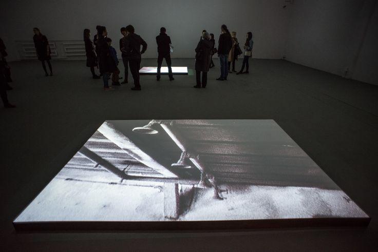 """Mirosław Bałka """"Fragment""""   25.04.2014 - 15.06.2014   Galeria Labirynt, Lublin    fot. W. Pacewicz"""