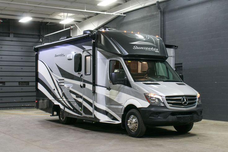 Forest River Sunseeker 2400W Mercedes Diesel Sprinter Motorhome RV Forester  | eBay