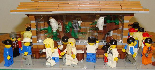 LEGO Zoo Owl Enclosure