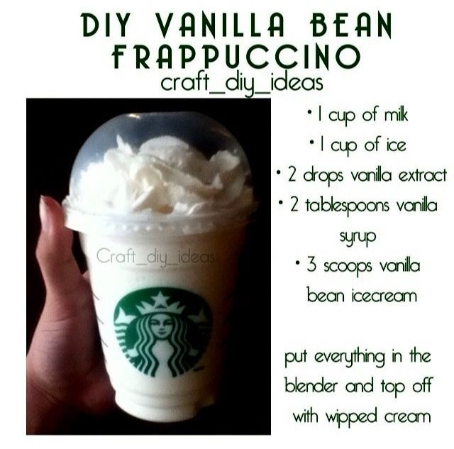 vanilla bean frappuccino ❤️