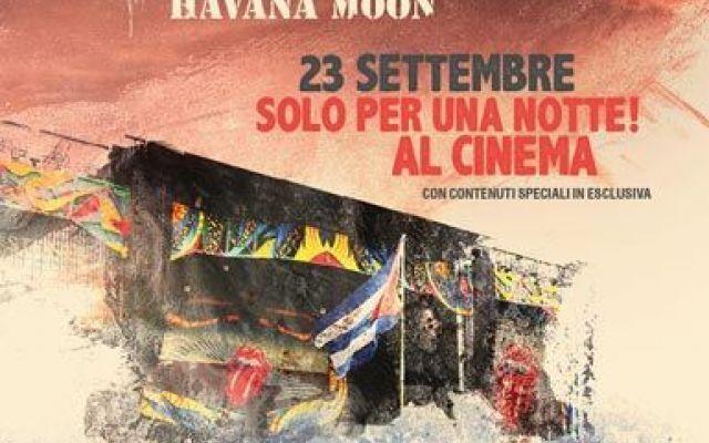 Solo oggi al cinema il mitico concerto dei Rolling Stones a Cuba Eventi cinematografici: solo oggi, venerdì 23 settembre 2016, arriva su grande schermo un concerto epocale, quello dei Rolling Stones tenutosi a Cuba difronte ad un pubblico di un milione di persone. #cuba #rollingstones #concerto #film #cinema