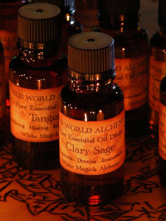 White Magick Alchemy - Clary Sage Essential Oil . White Magick Alchemy Pure Essential Dilute . Euphoria, Dreams, Immortality, $6.95 (http://www.whitemagickalchemy.com/clary-sage-essential-oil-white-magick-alchemy-pure-essential-dilute-euphoria-dreams-immortality/)