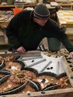 Maggy Howarth - Cobblestone Designs/ pebble mosaics -modern precast method, diy supplies, etc.