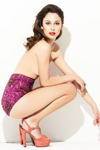Blanca Suarez for Glamour Spain June 2011 by Antonio Terrón Styled by Maria Parra