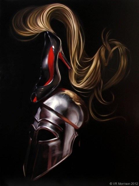 La Femme au Dessus - VR Morrison Contemporary Artist