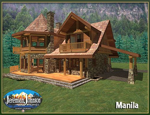 Anderson Custom Homes Log Home Cabin Packages Kits