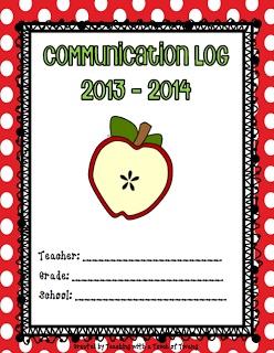 Parent Communication Log - FREEBIE
