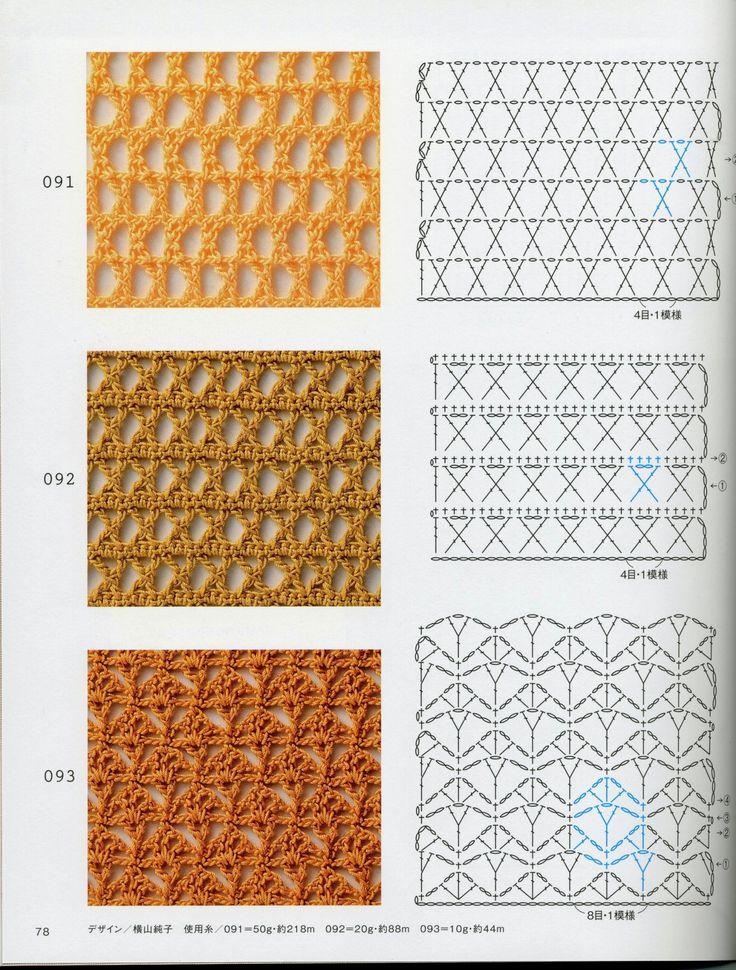 293 best point de Crochet images on Pinterest | Crochet patterns ...
