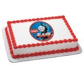 Thomas the Train Edible Cake Image Topper