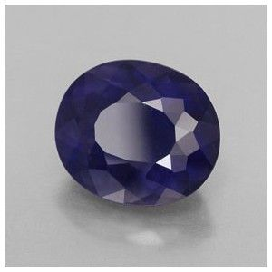 Batu Iolite Warna Violet Blue