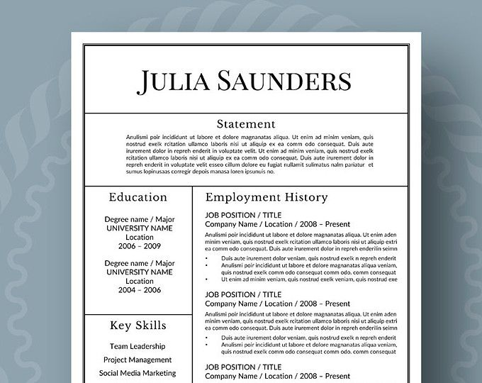 116 best Professional Resumes from Resume Foundry images on - fonts to use on resume