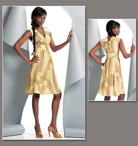 Vogue 1086 Tracy Reese Dress