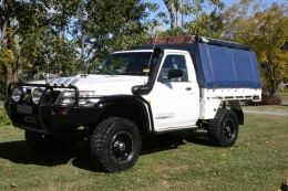 2003 Nissan Patrol GU UTE Coil Cab by hackisack http://www.truckbuilds.net/2003-nissan-patrol-gu-ute-coil-cab-build-by-hackisack