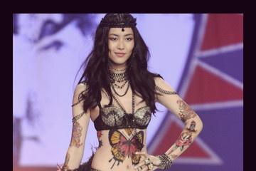 Model Victoria secret asian