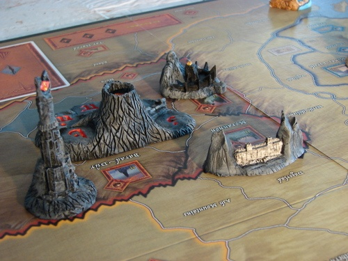 War of the Ring. Mordor Game pieces!