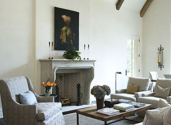 The Aixoise Stone Fireplace Mantel From Francois Co Is A Beautiful Reproduction Of An