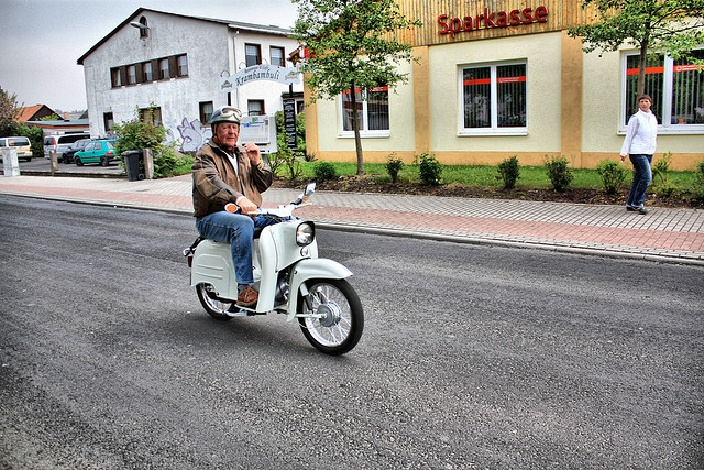 Simson Schwalbe on road